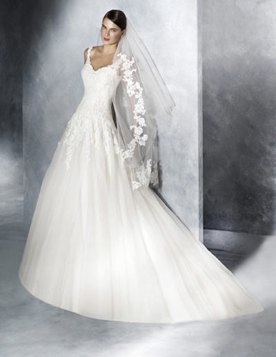 Gatehouse Brides White One Wedding Dresses JISELLE Front