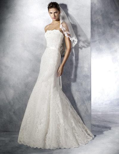Gatehouse Brides White One Wedding Dresses TAMARA Front