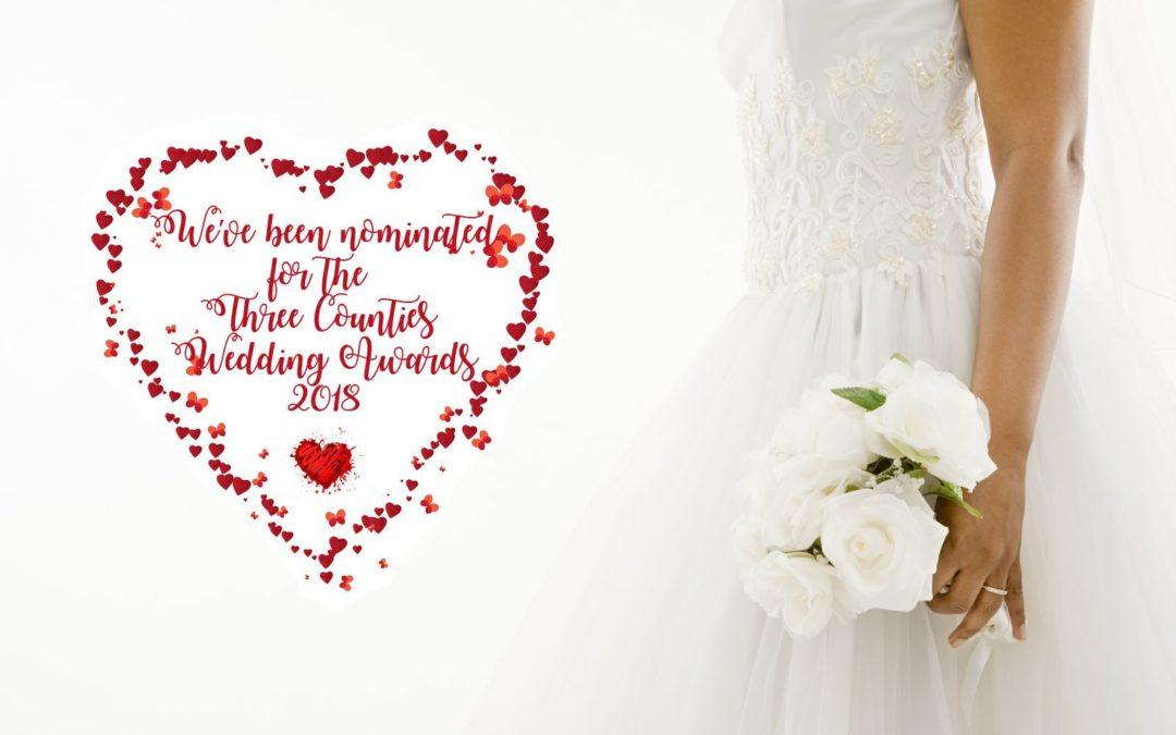 Three Counties Wedding Awards Nomination!