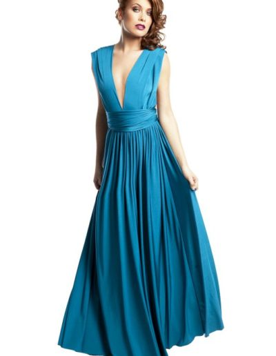 eliza-and-ethan-bridesmaid-dresses-blue lagoon front