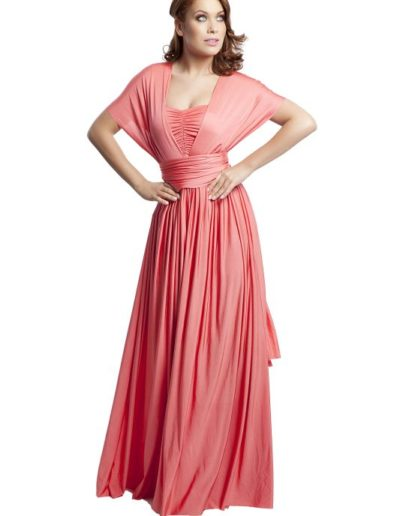 eliza-and-ethan-bridesmaid-dresses-coral front