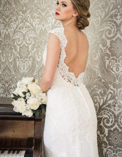Gatehouse Brides Wedding Dresses Worcester Catherin Parry Cerys back
