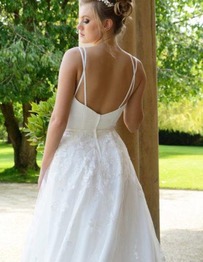 Gatehouse Brides Wedding Dresses Worcester Catherin Parry Scarlett back